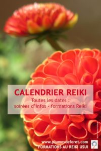 Dates de nos initiations Reiki Usui