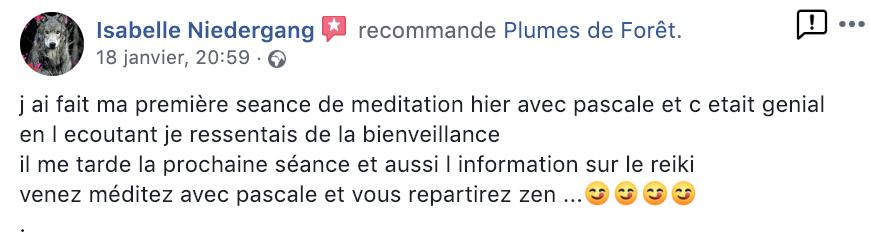 Meditation Belfort témoignage