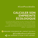 calculateur empreinte ecologique