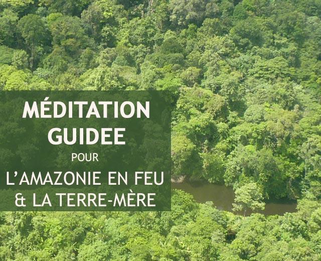 Méditation Amazonie en feu
