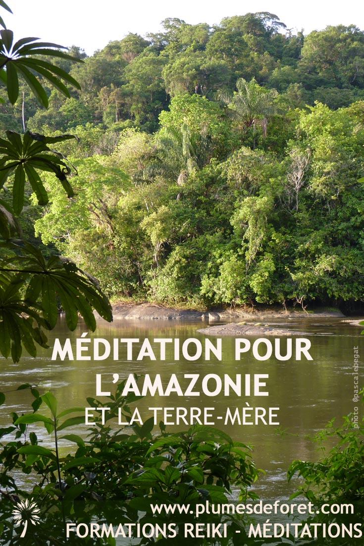 Méditation Amazonie Terre Mère