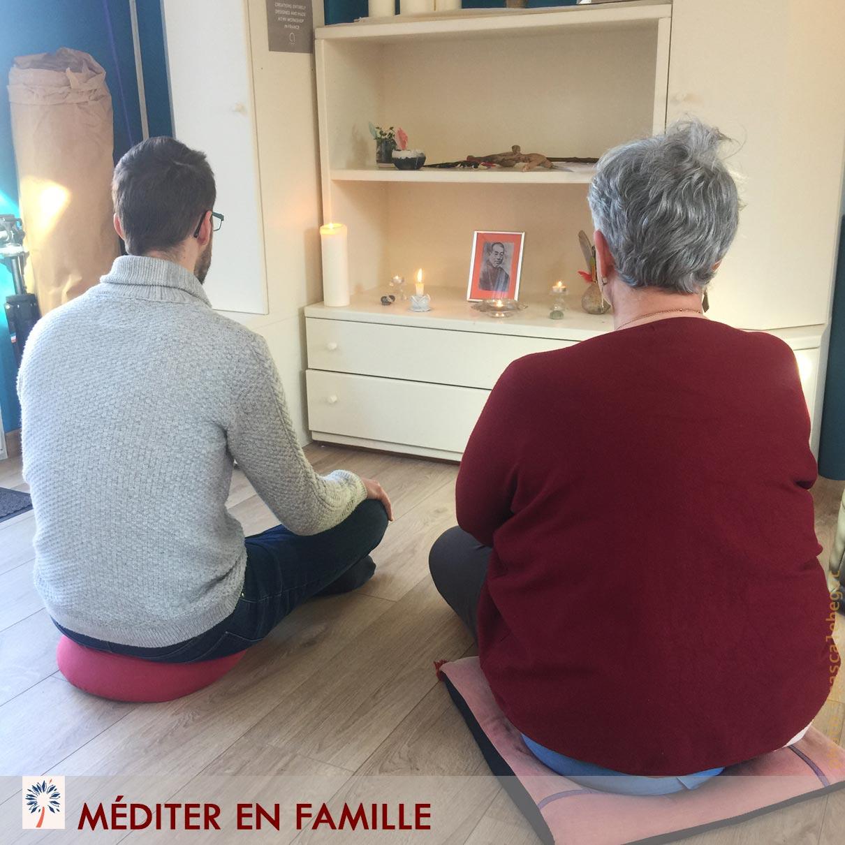 meditation famille