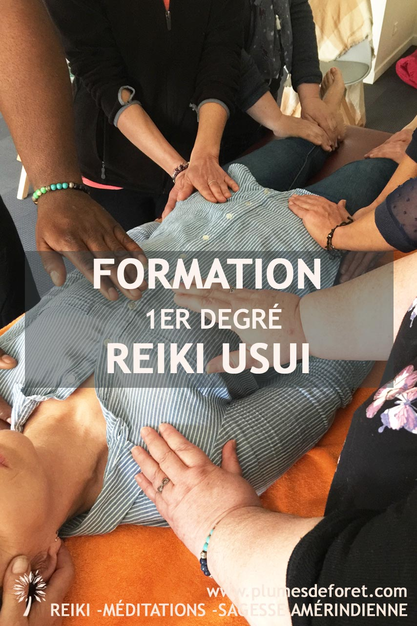 Formation 1er degré Reiki Usui