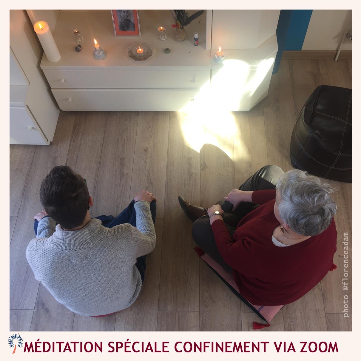 meditation confinement