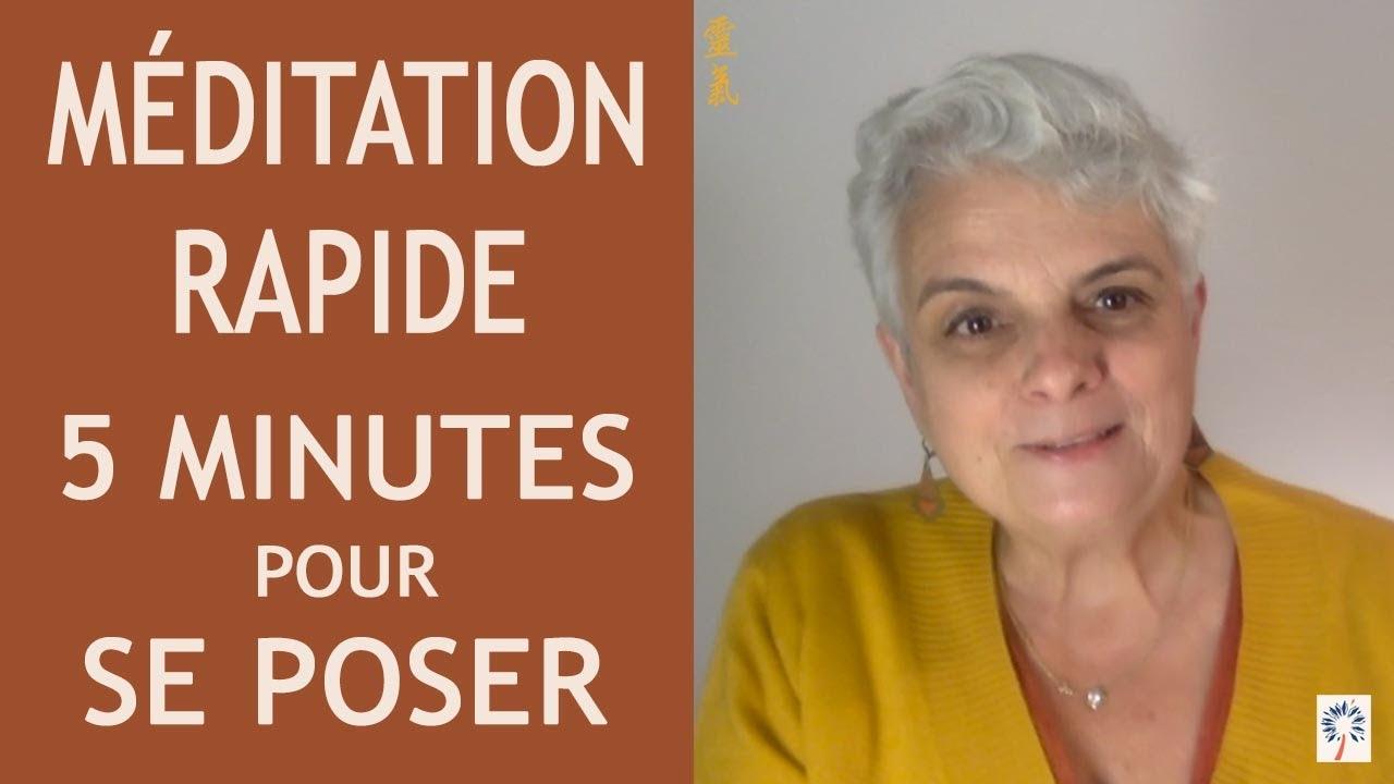 méditation 5 minutes