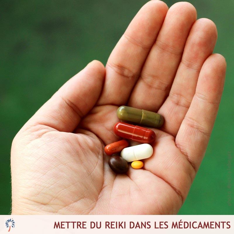 reiki médicaments