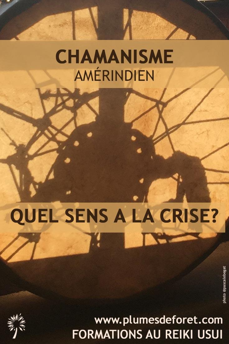 chamanisme amerindien et crise