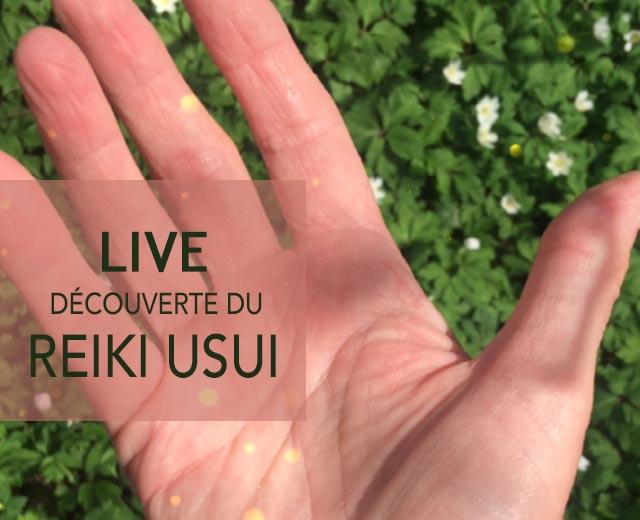 Live reiki Usui