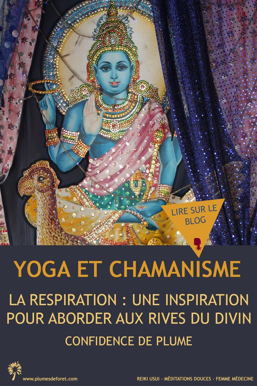 yoga et chamanisme : respiration