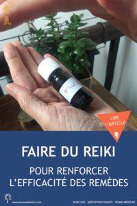 Faire du Reiki pour renforcer l'efficacité des remèdes