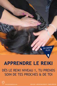 apprendre le Reiki niveau 1