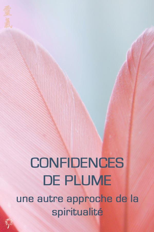 Confidences de Plume - spiritualité