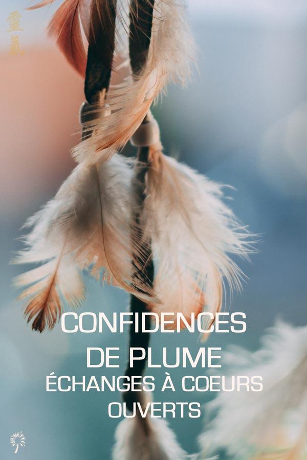 Confidences de Plume